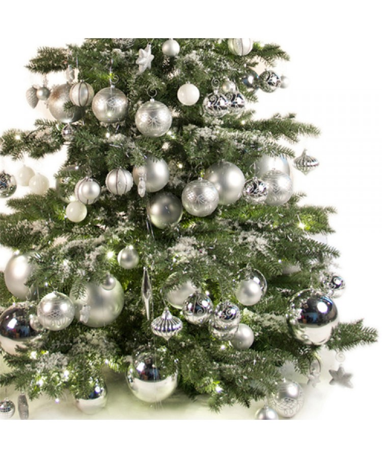 Luxury Tree Bright and Silver 210cm-966