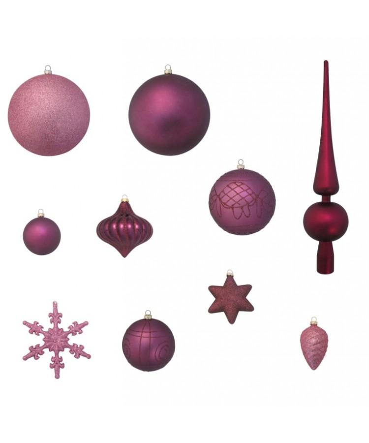 Luxury-Tree-Purple-240cm-Ornaments