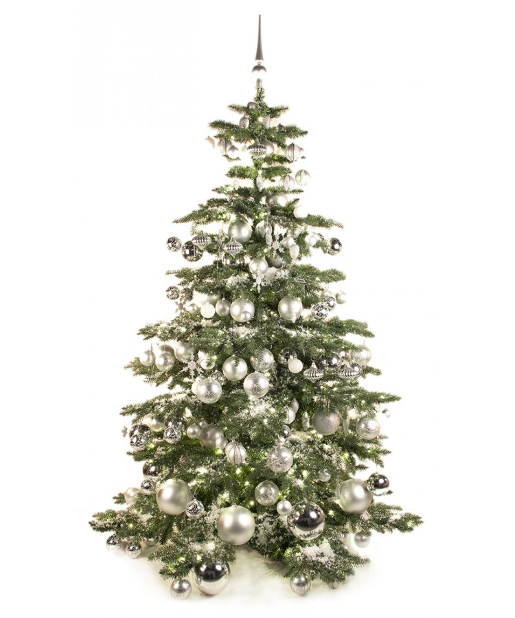 Luxury Tree Bright and Silver 180cm-0