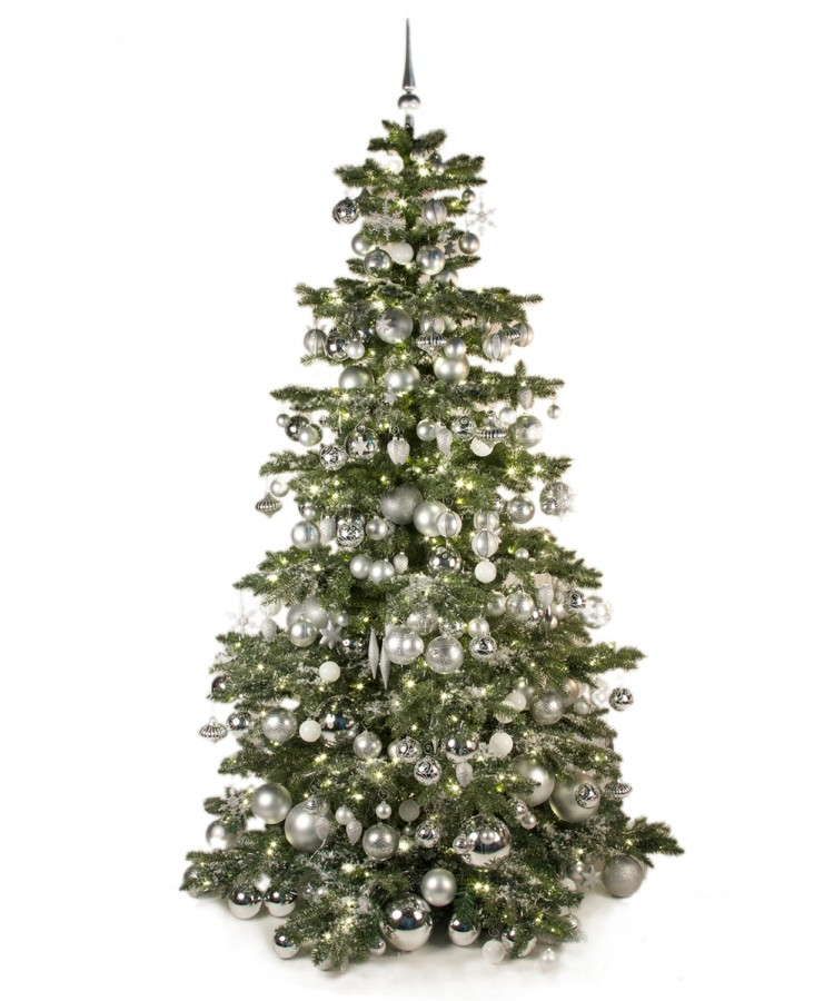Luxury Tree Bright and Silver 240cm-0