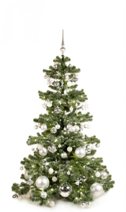 Basic Tree Bright and Silver 180cm-0