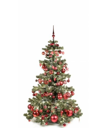 Basic Tree Warm Bordeaux 180cm-0