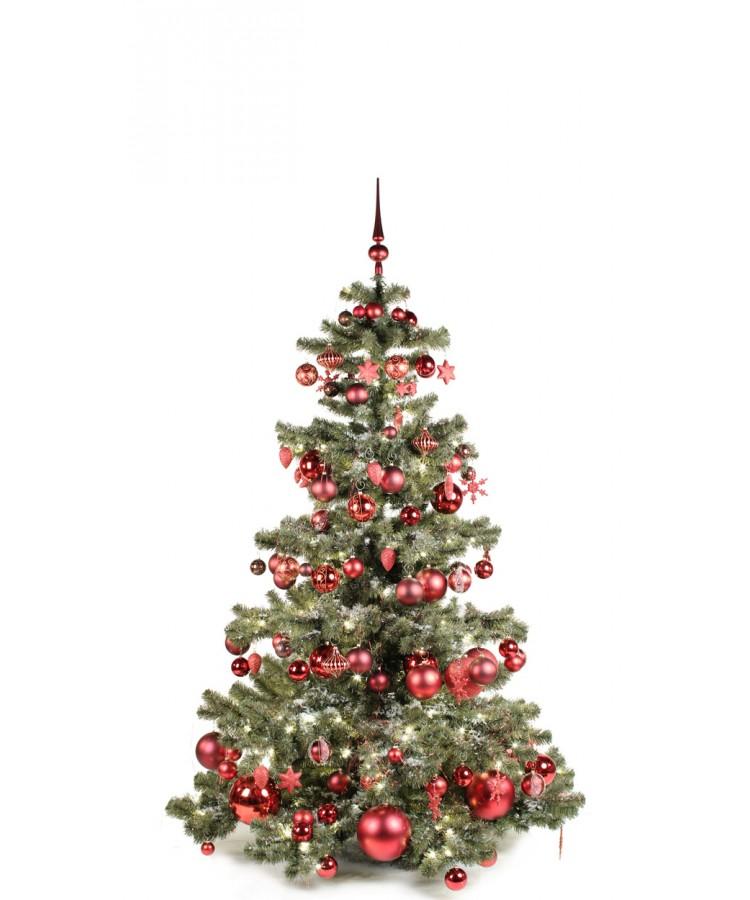 Basic Tree Warm Bordeaux 180cm-0