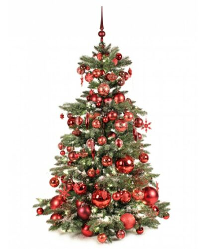 Luxury Tree Warm Bordeaux 150cm-0