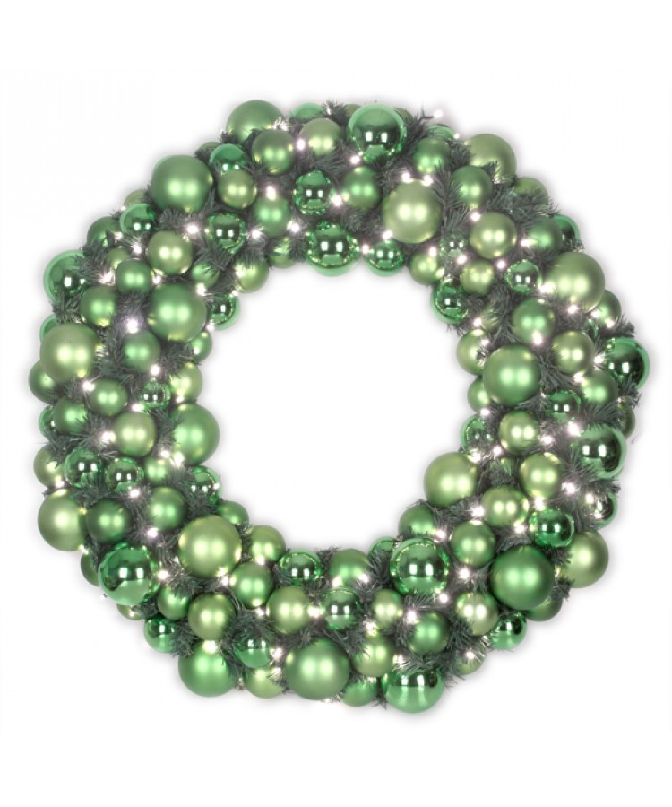 Luxury Wreath Refreshing Green 75cm-0