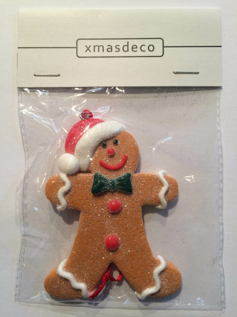 Ginger Bread Cookie Ornament - mannetje-1520