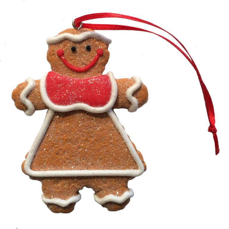 Ginger Bread Cookie Ornament - Vrouwtje-0