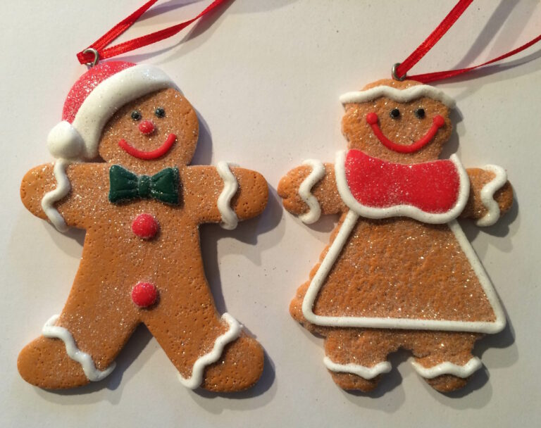 Ginger Bread Cookie Ornament - mannetje-1519