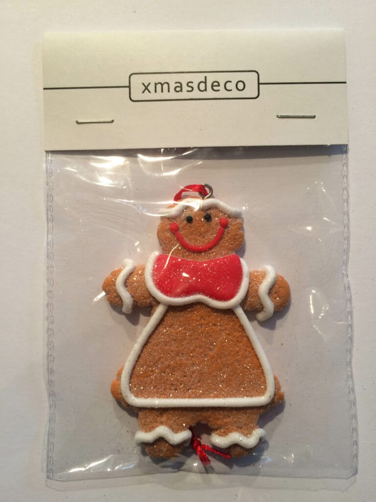 Ginger Bread Cookie Ornament - Vrouwtje-1522